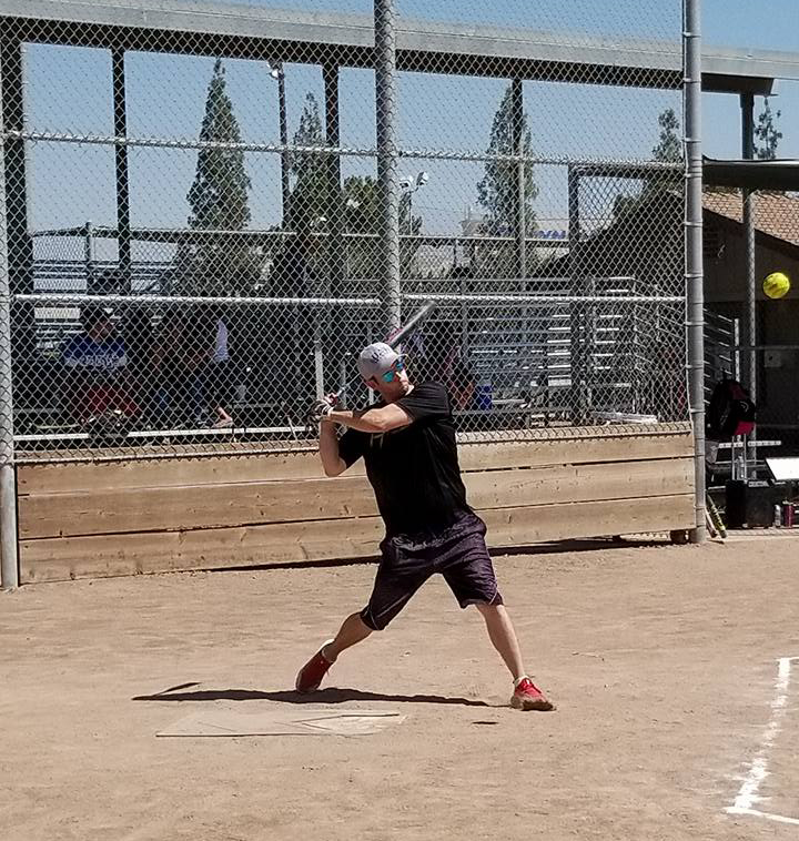 An avid softball player, David Haun has slowed down in recent years but still finds time to play - when he isn't working open houses, that is!