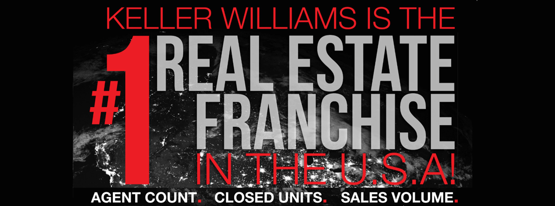 Keller Williams has quickly risen to the #1 Real Estate Franchise in the United States and shows no signs of slowing down!